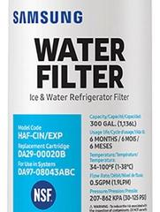 samsung refrigerator water filter replacement